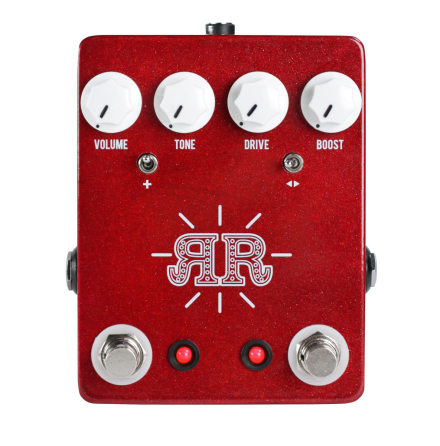 JHS Ruby Red (Butch Walker Signature 2-in-1 Overdrive/Fuzz/Boost)