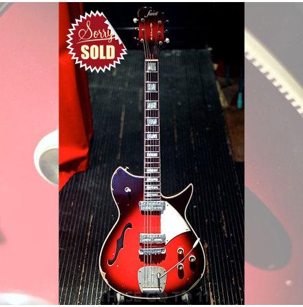 Fano RB6 Thinline lim edition Red burst