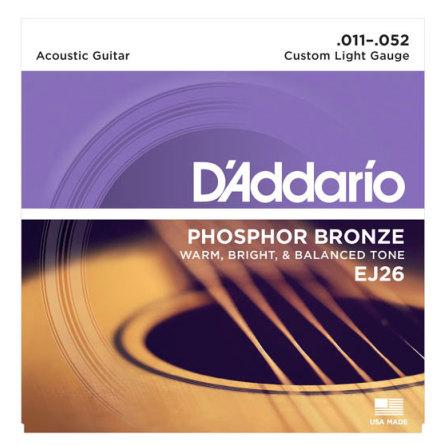 D´Addario Western Phosphor Bronze 011-052