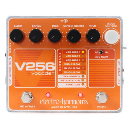 Electro Harmonix XO V256 Vocoder Pedal