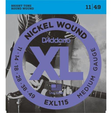 D´Addario Elgitarr Nickel Wound 011-049