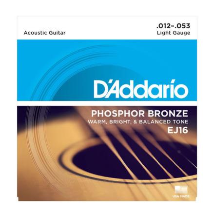 D´Addario Western Phosphor Bronze 012-053